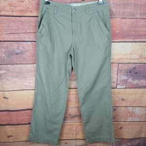 Horny Toad chino cargo men's pants size 34